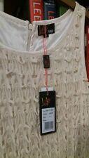 Yumi abito taglia small color panna/beige
