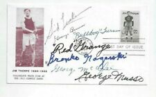 Chicago Bears Football HOFers Autographed First Day Cover (6) Grange,Nagurski