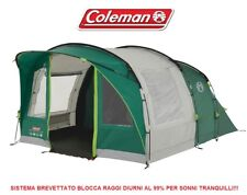TENDA FAMILY 5 POSTI ROCKY MOUNTAIN 5 PLUS COLEMAN CON SISTEMA CAMERA SENZA LUCE