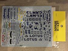Tabu Design Decals pour Tamiya Lotus 99T 1/20