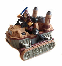 Star Wars Galactic Heroes LANDSPEEDER vehicle toy  & BEN KENOBI figure set