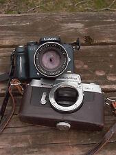 Minolta Rokkor-PF 55mm F:1.8 RARE SR-1 1965 m4/3 Sony A7 A7r A7rll Nikon Canon