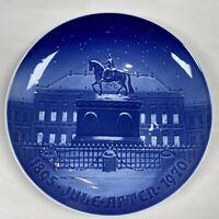 "B&G BING & GRONDAHL 1970 Christmas Jubilee Plate ""Amalienborg The Royal Palace"""