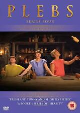 PLEBS Series 4 DVD  Rare unavailable in the US   Tom Rosenthal  PAL R2 DVDs Only