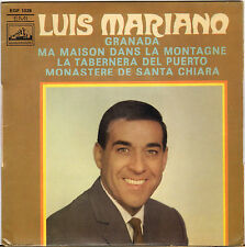 "LUIS MARIANO ""GRANADA"" 60'S EP  LA VOIX DE SON MAITRE 1028"