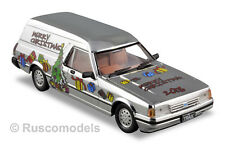 1/43 Trax Code2 TR76 1984 XF Falcon Panel Van, Chrome, 1 of 300, Christmas