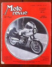 Moto Revue du 15/05/1954; Essai 250 Adler/ Asso Ydral-A.G.F./ NSU Cigare/ Lyon