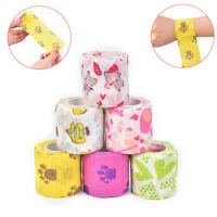 1pc Medical Self Adhesive Elastic Bandage Sports Wrap Tape for Finger Joint K ci