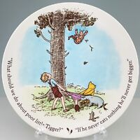 Disney Reed & Barton Winnie the Pooh Child's Plate Classic Poor Little Tigger