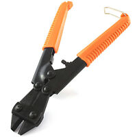 """8"""" COMPACT PORTABLE LOCKING BOLT CUTTERS Cutting Metal Lock Wire Barb Rivets"""