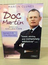 Doc Martin Series 1-5 + The Movies DVD 16411-176,16816-195,1688-375
