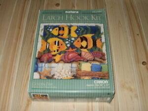 NATURA Latch Hook Kit - GOLDEN FISH #R701 **NEW**