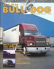 Truck Magazine - Mack Bulldog - CH600 - Pitt Ohio Express - c1990  (T2287)