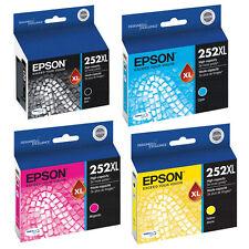 Genuine Original Epson 252XL / T252XL Workforce WF-3620 WF-3640 WF-7110 WF-7610