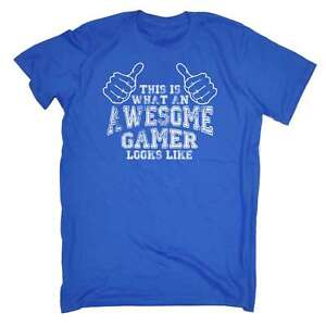 Funny Awesome Gamer Looks Like Video Console Gaming Birthday T-SHIRT