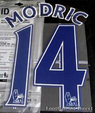 Tottenham Modric 14 Premier League Football Shirt Name Set Lextra 2007/13 home