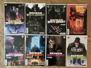 BATMAN WHITE KNIGHT #1-8 COMPLETE FIRST PRINT RUN