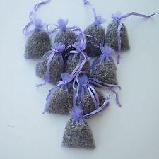 100 Lavender Bags Sachets Wardrobe Drawer Aromatic Repel Calming Air Fresh