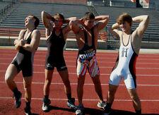 Athletic College Track Star Jocks Posing Wrestling Singlets Dudes PHOTO 4X6 N13