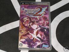 Playstation Portable PSP Import Game Phantasy Star Portable 2 Japan