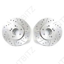 FIAT Stilo 2.4 20v 01-  Drilled & Grooved Front Brake Discs