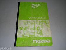 Werkstatthandbuch Reparaturanleitung Mazda RX-7 Typ SA22C, Stand 06/1979