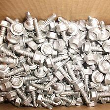 Metal Screws 10 - 16 x 16 1000 Hex Tek Head Climaseal Galv Grey Class 4 Buildex