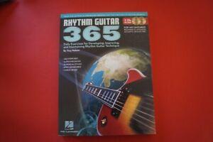 Rhythm Guitar 365 Daily Exercises (mit 2 CDs) .Gitarrenbuch