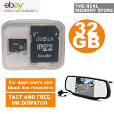 32GB TF Flash Micro SD SDHC Class10 Memory Card for Rear View Mirror Dash Cam