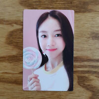 Dahyun Official Photocard Rocket Punch 1st Mini Album Pink Punch Genuine Kpop
