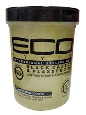 Eco Styler Black Castor & Flaxseed Oil Professional Styling Gel  946ml