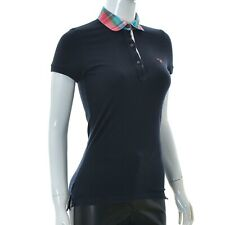 GANT for Womens lady Polo t-shirt top Short sleeve Size XS dark blue Authentic