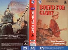 BOUND FOR GLORY - Randy Quaid -VHS -PAL -NEW -Never played! -Original Oz release