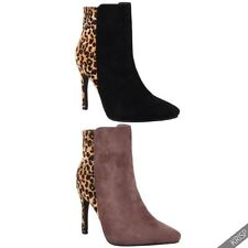 Leopard Synthetic Heels for Women