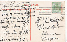 Genealogy Postcard - Family History - Woolford - Thame - Oxon   A3383