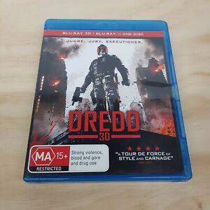 DREDD 3D (2012) Blu ray Inc 8 Featurettes (Tracked Post)