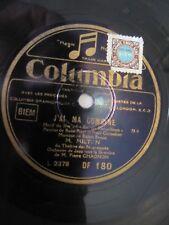 DISQUE  M.MILTON  COLUMBIA   78 Tours