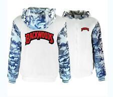 Backwoods Hoodie Fleece Coat Hip Hop Jacket Winter Warm Sweatshirt Tops Gift Hot