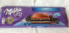 MILKA Chocolat Oreo, grandes Barres 300 g, neuf stock. Livraison gratuite! beau cadeau.