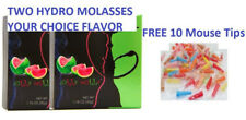 2x 50g Hydro Herbal Molasses ANY Flavors FREE 10x Mouse Tips