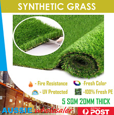5 SQM Synthetic Turf Artificial Grass Plastic Green Plant Fake Lawn Flooring