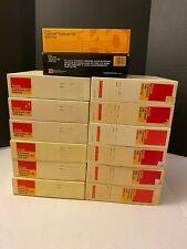 (Lot of 14) Kodak Carousel Transvue 140 Slide Trays w/Original Boxes