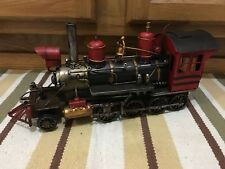 Steam Engine Train Locomotive Railroad Metal Handmade Decor Vintage Style Toy