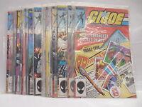 G.I.Joe GIJoe Marvel Comic Books X20 Snake-Eyes Ninja (see #'s in listing)