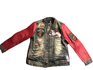 National Basketball HERITAGE AMERICA UNK NBA CLEVELAND CAVALIERS DENIM JACKET