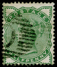 SG164, ½d deep green, good used, CDS. CONSTANTINOPLE.