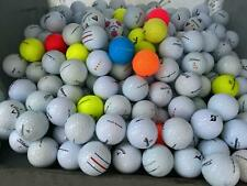 50/100X LOT Assorted Mix Brands Color Mix AAA Mint Condition Lost Golf Balls