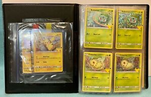 2021 Pokémon 25th Set-64 CARDS McDonalds and General Mills COMPLETE COLLECTIONS