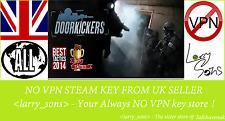 Door Kickers Steam key NO VPN Region Free UK Seller