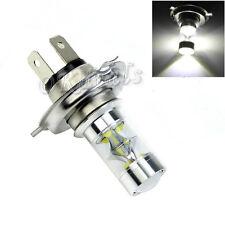 H4 45W Blanca LED Lámpara Luz Niebla 2500LM Coche Bulbo Motocicleta Bombilla